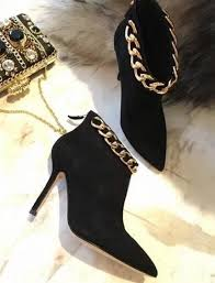click to buy selling pointed toe boot click to buy 2017 selling chains decorations high heel