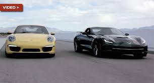 porsche 911 vs corvette germany s expensive porsche 911 s vs america s bargain