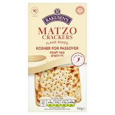 matzos for passover rakusen s matzo passover crackers 150g from ocado