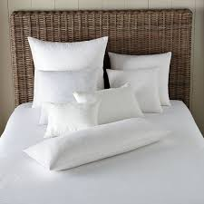 decorative pillows bed decorative pillow inserts west elm