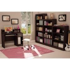 South Shore Axess Bookcase South Shore Axess 4 Shelf Bookcase In Chocolate 7259767 The Home