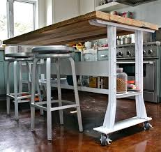 movable kitchen islands with seating island tables for kitchen chic rolling kitchen island with seating