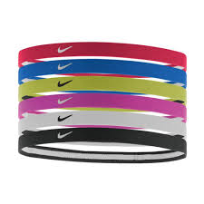 sports headband women s nike swoosh sport headbands 6pk sports outdoors