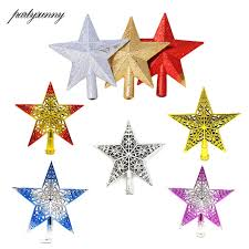tree toppers 1pcs 20cm christmas tree top decoration christmas tree topper