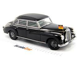 mercedes adenauer 1 18 mercedes 300 adenauer 1957 black