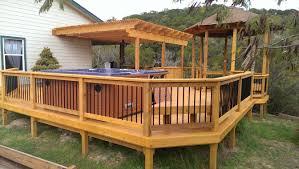 custom built decks custom decks patio decks decks porches