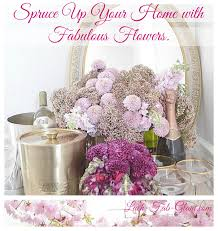 Glam Home Decor Lush Fab Glam Blogazine Spruce Up Your Home Decor With Flowers