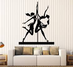 vinyl wall stickers vinyl wall decal pole dance dancer stripper stickers