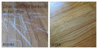 clean scratches on hardwood floors mayonnaise frugal