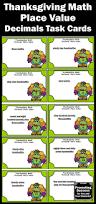thanksgiving math activities the 25 best thousandths place ideas on pinterest decimal value