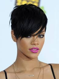 comb forward bob hairstyles 50 great rihanna hairstyle photos strayhair