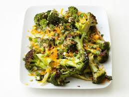 roasted cheddar broccoli recipe food network kitchen food network