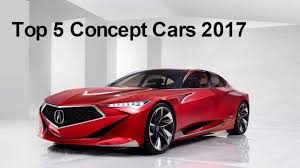 concept cars top 5 future concept cars 2017 youtube