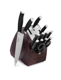 what is a good set of kitchen knives self sharpening knife sets calphalonusastore