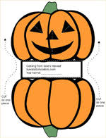 stand up pumpkin sunday school thanksgiving craft