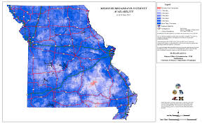 missouri map data maps and data mobroadbandnow