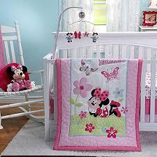 Minnie Crib Bedding Set Disney Minnie S Garden Crib Bedding Collection Buybuy Baby