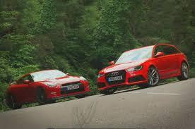 audi rs6 vs nissan gt r vs audi rs6 avant shootout autocar co uk
