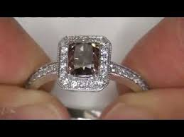 browns wedding rings fancy golden chagne brown diamond engagement ring 1 auction