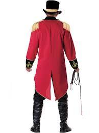 deluxe male ringmaster costume mens circus fancy dress lion c906 ringmaster elite mens circus lion tamer ring master halloween