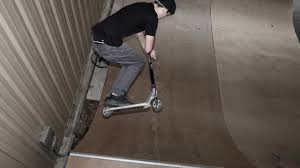 backyard mini ramp x carson tuttle scooter film youtube