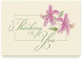 thinking of you flowers greeting card portfolio lewis design