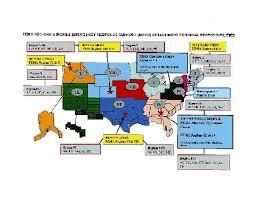 fema region map who are the ten fema