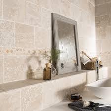 fontaine en pierre naturelle pierre naturelle sol et mur ivoire travertin l 20 x l 20 cm