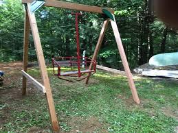 Backyard Ski Lift Red Cedar Swing Sets Made In Usa Simple U0026 Affordable Fun
