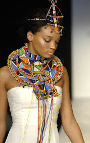 african women necklace images Fashionable african ceremonial wedding necklace choker hair jpg