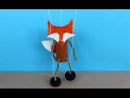 string puppet easy craft how to make a fantastic mr fox puppet