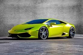 Lamborghini Huracan Lime Green - performance creates 690hp lamborghini huracán