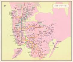 Nyc City Subway Map by City Of Women Nyc Subway Map