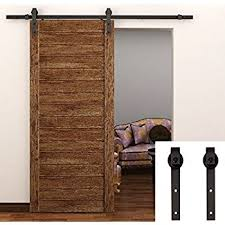 Erias Home Designs Top Of Door Sliding Barn Door Hardware by Amazon Com Casa Design U0026 Decor 78102m Rustic Barn Door Hardware