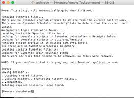 Symantec Service Desk Steps For Symantec Endpoint Protection Sep Removal Information