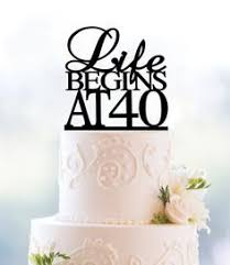 40 cake topper sweet 16 cake topper custom cake topper with age by p2topper