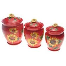 sunflower kitchen canisters overstock keep your kitchen organized in classic style with