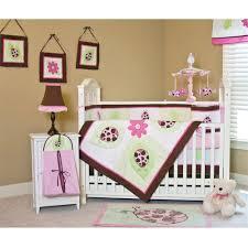 Pink Brown Crib Bedding Ladybug Baby Bedding Pink And Brown Vine Dine King Bed