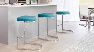 uk bar stools contemporary faux leather and chrome bar stool uk teal bar stools in
