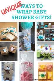 unique baby shower baby shower gifts and clever gift wrapping ideas