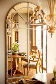 inside the design mary s home august haven furniture home large mirror in dining room