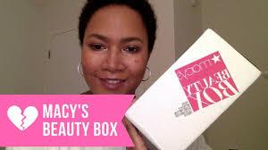 halloween perfume macys macy u0027s beauty box unboxing september 2017 youtube