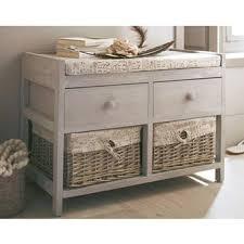 meuble de rangement chambre petit meuble à tiroirs et paniers idéal pour salle de bains ou
