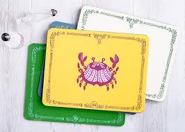 zodiac placemat zodiac placemat table mat coaster avenida home
