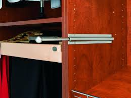 bedroom outstanding valet rod for closet accessories ideas