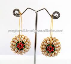 pachi earrings style pachi dangle earring indian fashion pachi earring