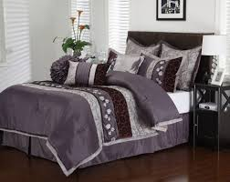 Gorgeous Bedding Purple Bedding King New Girls Purple Flowers Comforter Sheets
