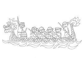 dragon boat festival coloring pages coloring