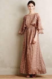 korovilas silk kimono maxi dress in pink lyst