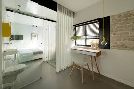 Bedroom Wall On Rail Divider Wonderful Studio Apartment Architecture Find This Pin And More On